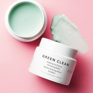 Farmacy Green Clean cleansing balm, trial size